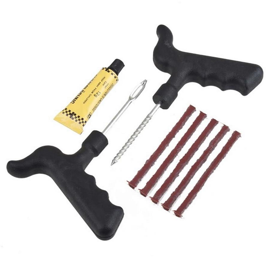 Car Tubeless Tyre Puncture Repair Kit Tool
