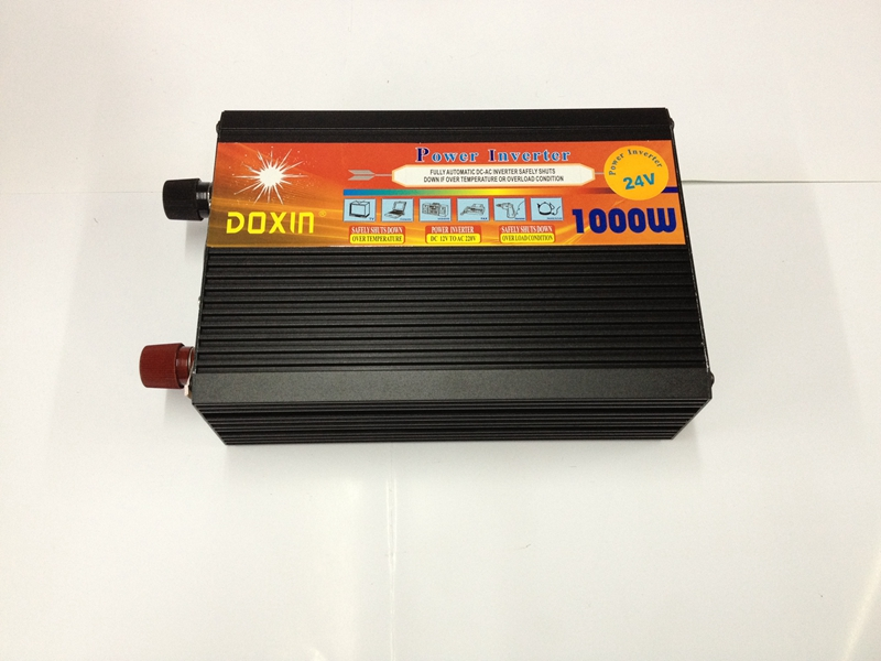 цена на high frequency 1000W DC24V input to AC230V output Modified Sine Wave Power Inverter