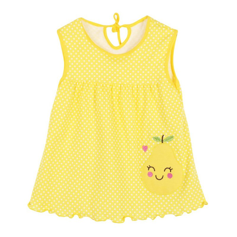 New Fashions Summer Cute Infant Baby Girl Dress Sleeveless Flowers Printed A-Line One Piece Mini Dress for 1-2Y girls