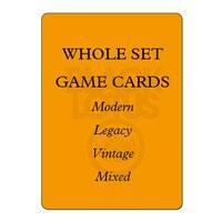 8.0 WHOLE SET 56PCS/LOT Black Lotus Top Quality Modern/Legacy/Vintage/Lands Set Black Core Playing Cards Board Games Poker Cards
