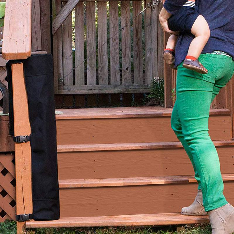 Baby And Pet Gate–To Banister Retractable Safety Gate Wide And Regular Sizes in Bed Safety Rails from Mother Kids