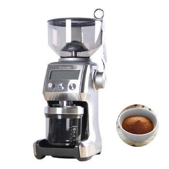 цена на 220V Intelligent Electric Coffee Grinder DIY Grinding Coffee Beans Commercial Espresso Coffee Maker BCG800