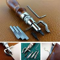 7 In 1 Trenching Device Chisel Compressor Cutter Edge Lineer Trench Tools Multi Function Digging