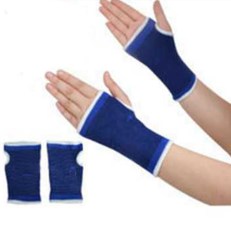 Hand Palm Support Brace guard Health Care Fingerless handguard Wrist Brace Women Protector Mitts Men Gym Sports Gloves Mittens