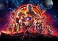 Плакат бесконечности войны, новый фильм мстителя 2018 Выберите свой размер Шелковый плакат