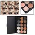 Profissionais 15 cores matte shimmer eyeshadow palette cosméticos maquiagem hot venda