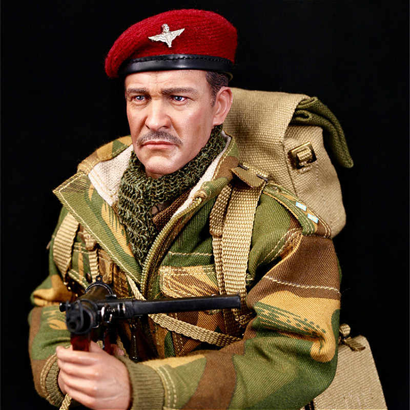 """DID K80135 1//6 Figure Commander of the First Airborne Division /""""Red Devil/"""" Toy"""