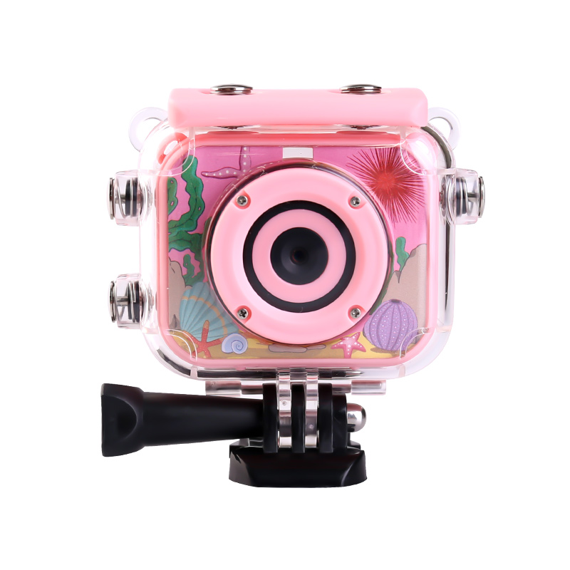 HTB1IllHXRKw3KVjSZFOq6yrDVXai High Quality Mini Kids Digital Camera Waterproof 30M 1080P Video 120D Camera Recoder Camcorder Gift For children Easy use