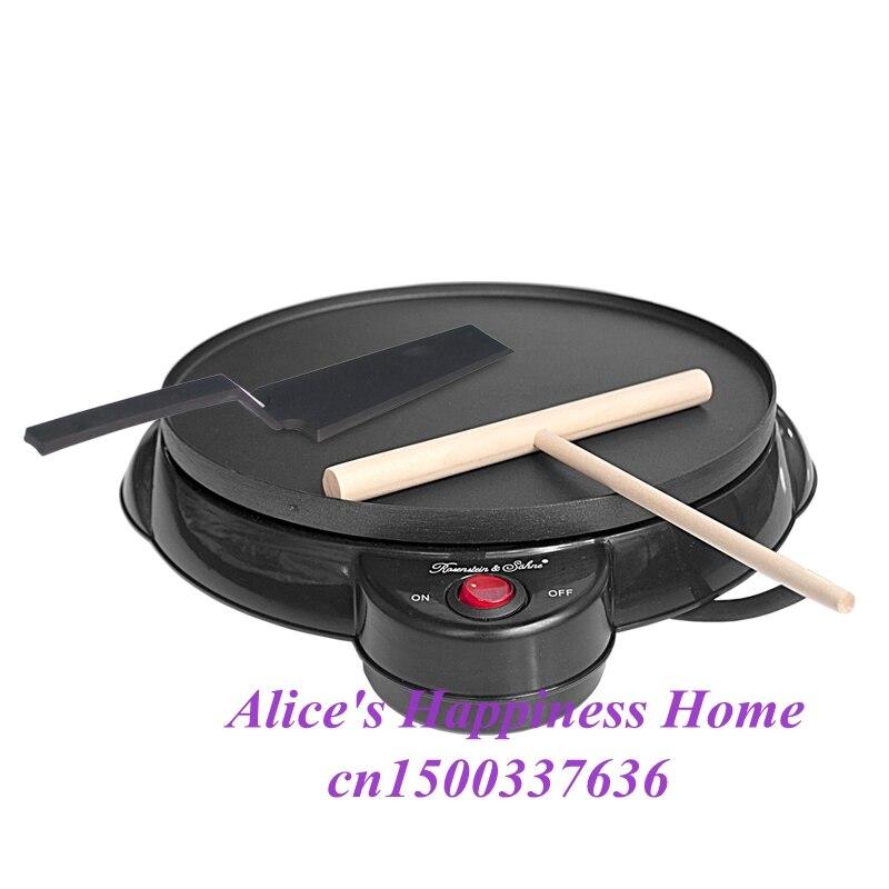 JIQI Kitchen tools electric thin pancake maker spring roll machine egg roll machine cake maker