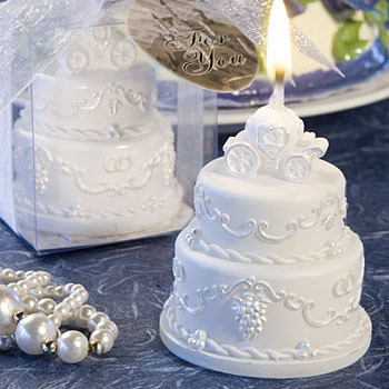Popular Wedding Cake Candle Favor Buy Cheap Wedding Cake Candle