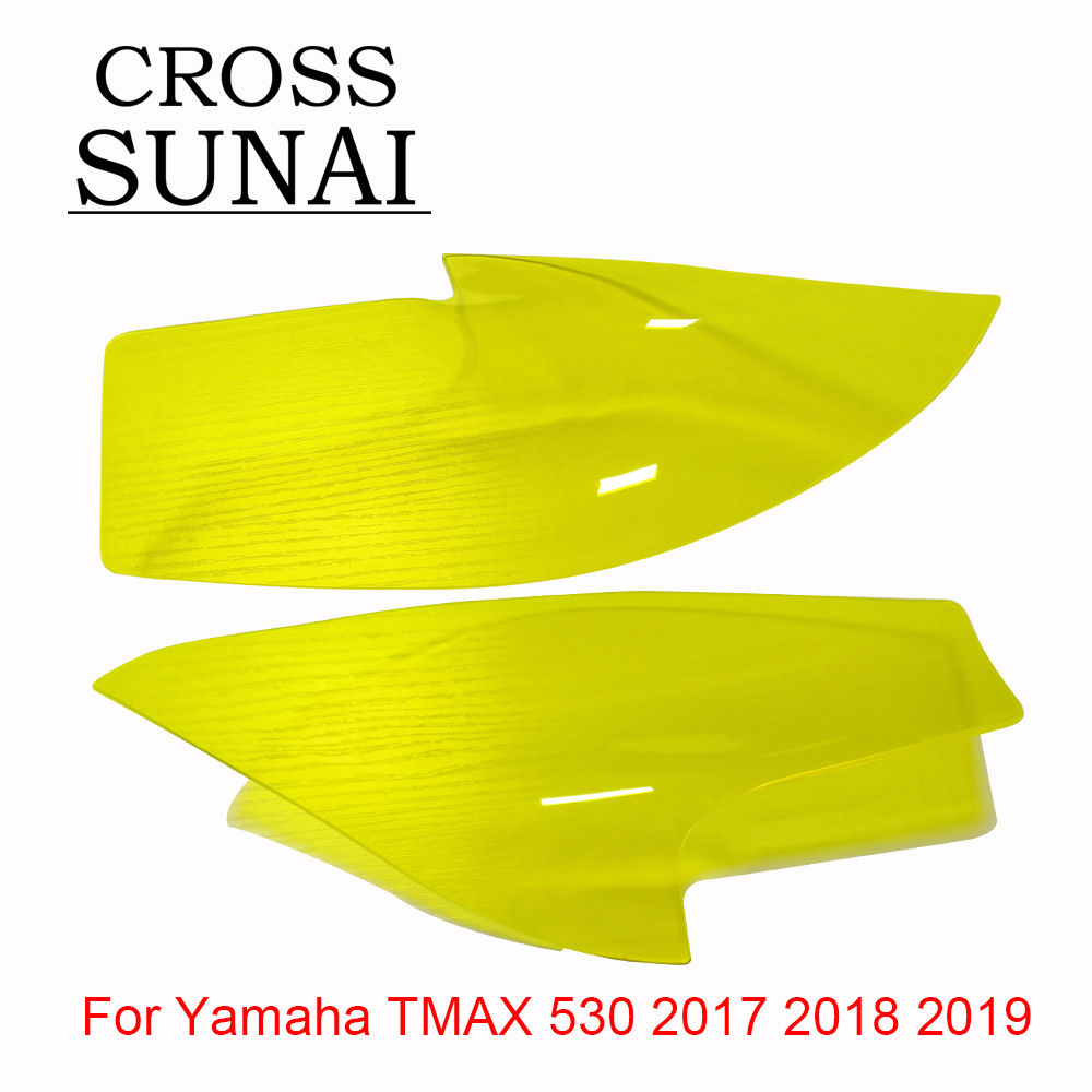 Motorcycle Screen Protective Headlight Cover Changeable Lighting Front Headlight Cover For YAMAHA TMAX <font><b>T</b></font> <font><b>MAX</b></font> <font><b>530</b></font> 2017 2018 <font><b>2019</b></font> image