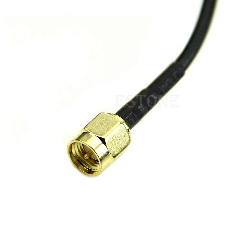 2,4 ghz 7dBi WLAN WiFi RP-SMA Wireless Signal Booster Antenne 5X Range Extender C26