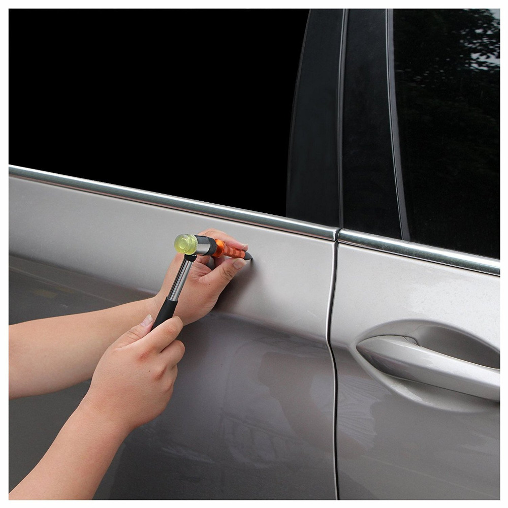 paintless dent repair Tool Kits Paintless Dent Removal Tap Down Tools Dent Rubber Hammer DIY Tools