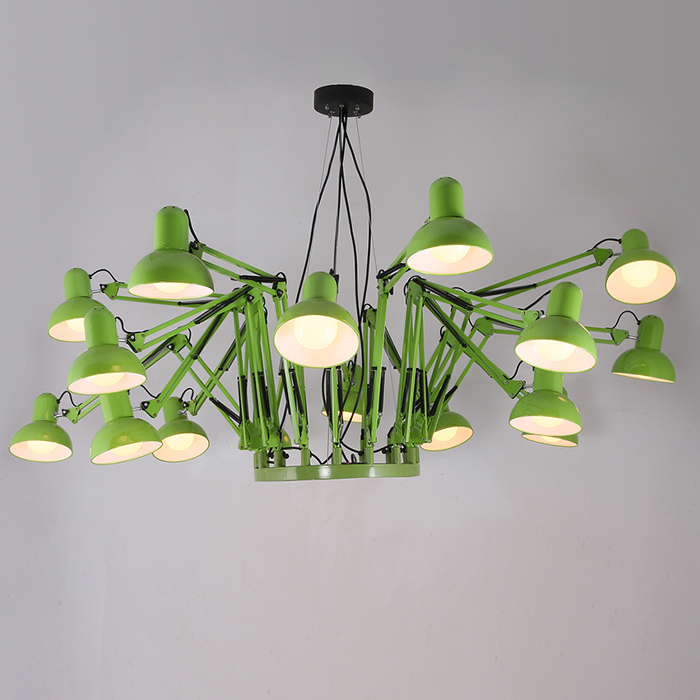 American Style Personality Retractable Pendant Light Lighting Modern Dining Room Lamp Foyer 16 Lamps