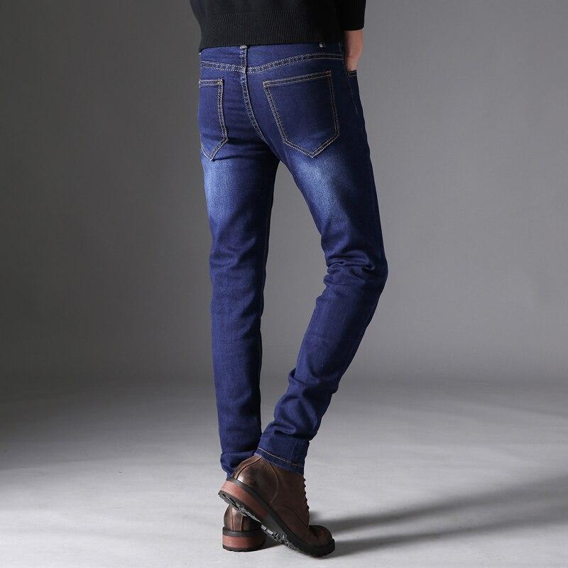 Spring summer men   jeans   slim feet casual pants 12FY