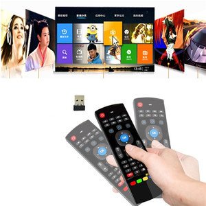 Image 3 - 2.4GHz Wireless Remote Control Fly Air Mouse Wireless Qwerty Keyboard for Smart TV Android TV box KODI XBMC MXQ MX3 M8S+T8 QBox