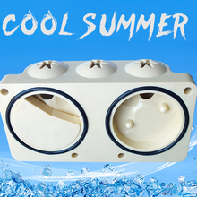 2018 Home Appliance Ice Cream Maker Parts Spare Head Pannel for Machine Replacement Accessories Outlet valve Sets For Space a bag of seal rings silicon sealings rings of ice cream machine spare parts replacements