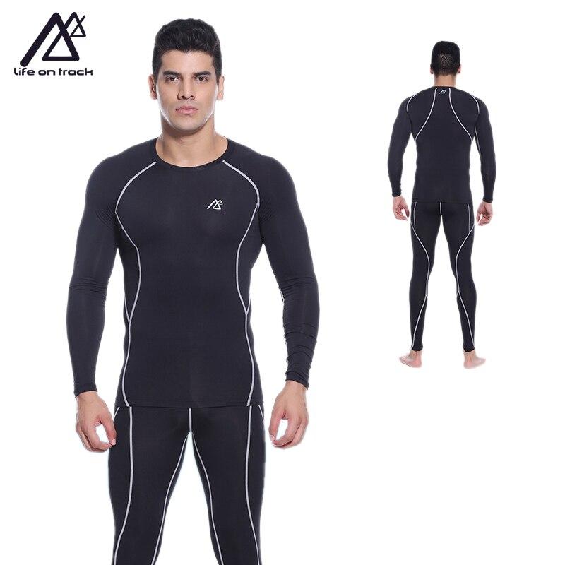 PRO фитнес comepression базовый слой для мужское трико одежда мужская Баскетбол футбол Бег одежда