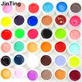 36 unids/set Pure Color Gel UV Para Nail Art Puntas de Extensión uv Gel Del Clavo Francés Manicura de uñas