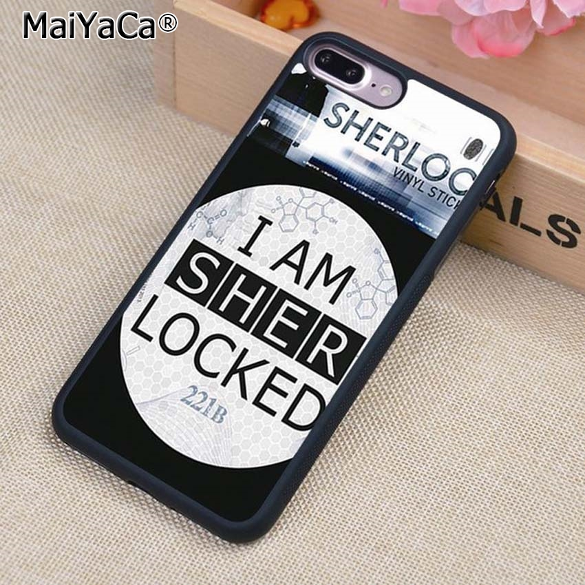 Cellphones & Telecommunications Competent Maiyaca I Am Sherlock Doctor Who Collage Style Phone Case Cover For Iphone 5s Se 6 6s 7 8 Plus 10 X Samsung Galaxy S6 S7 S8 Edge