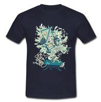 Vintage T Shirt Benim Sabah Ceket Circuital Rock Grubu The Flaming Dudaklar Erkek Ekip Boyun Kısa Kollu Üst T gömlek