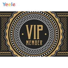 Yeele Party For Vip Member Vinyl Gold Background Photography Backdrops Personalized Photographic Backgrounds For Photo Studio color blocks backgrounds photography backdrops for studio 5x8 ft vinyl print backdrop photo booth photographic background m 1345