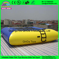 Boa qualidade bouncer ar trampolim inflável, trampolin água com bom preço para venda barato