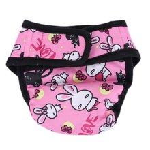 2018 Pet Large Dog Diaper Sanitary Physiological Pants Washable Female Dog Shorts Panties Menstruation Underwear Briefs Short