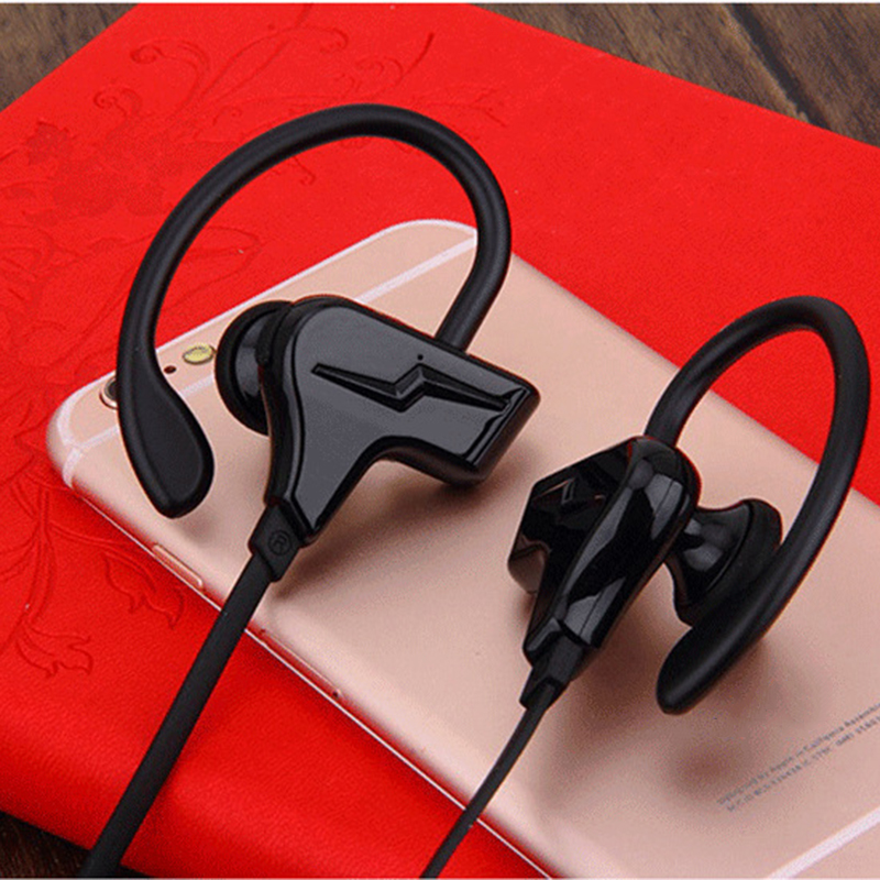 Sports Bluetooth Headphones Bluetooth 4.1 Wireless Sports Running Ear Hook Earphones Stereo Earphone with MIC for iphone Samsung