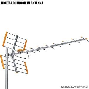 Image 1 - High Gain HDTV Digital Outdoor TV Antenna For DVBT2 HDTV ISDBT ATSC High Gain Strong Signal Outdoor TV Antenna