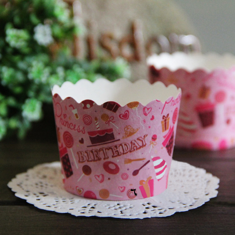 Fabulous Free Shipping Birthday Print Cupcake Party Supplies Small Paper Funny Birthday Cards Online Aboleapandamsfinfo