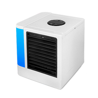 Mini Usb Portable Air Conditioner Humidifier Purifier 7 Colors Light Desktop Air Cooling Fan Air Cooler Fan For Office Home