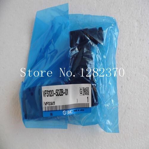 [SA] New Japanese original SMC solenoid valve VFS1120-5DZB-01 spot [sa] new japanese original smc solenoid valve plate vvqc4000 1a d 03 spot