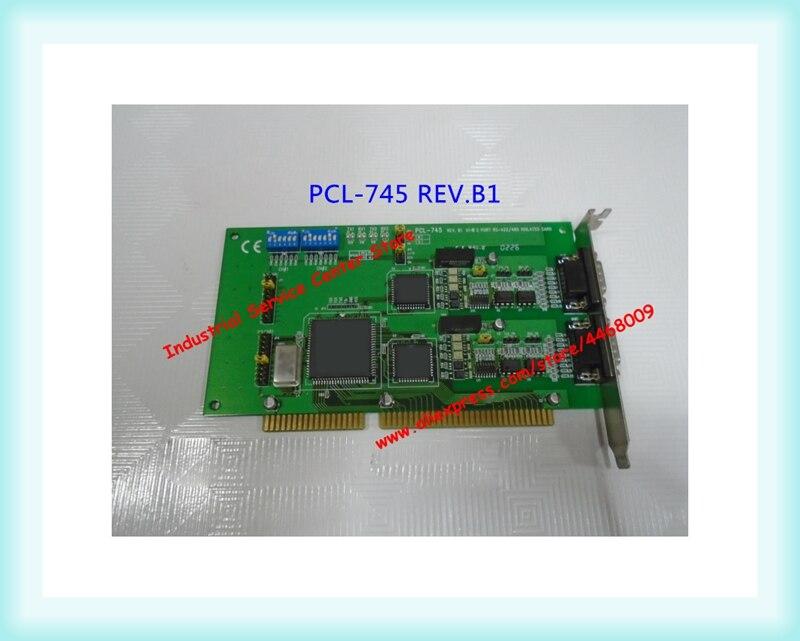 PCL-745 REV.B1 data acquisition card RS422 485PCL-745 REV.B1 data acquisition card RS422 485
