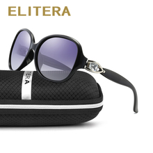ELITERA Polarized Sunglasses Women Luxury Fashion Summer Sun Glasses Vintage Sunglass Outdoor Goggles Eyeglasses Oculos de