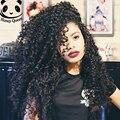 8А Glueless Фронта Шнурка Человеческих Волос Парики 250% Плотность Перуанский странный Курчавый Парик Полный Шнурок Человеческих Волос Парики Для Черного женщины