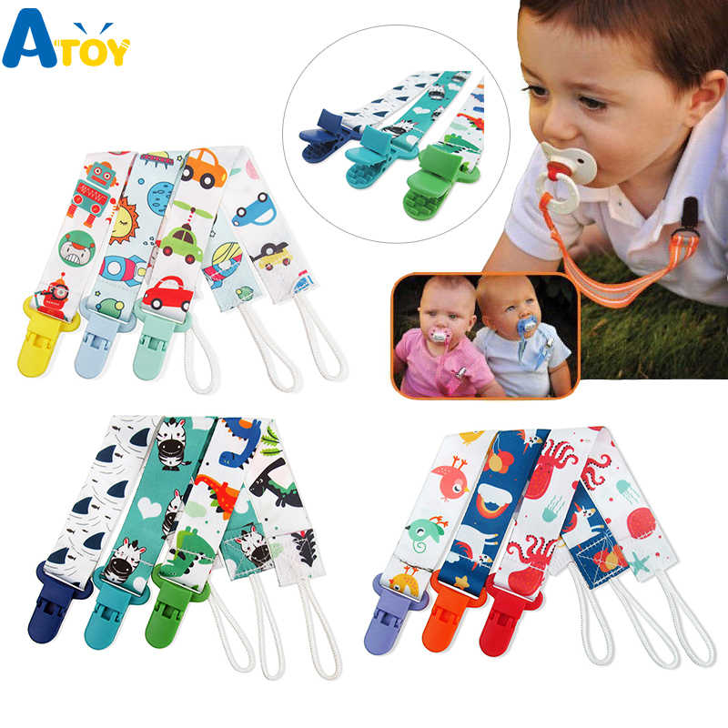 1Pc Newborn baby pacifier clips chain strap soother dummy nipple holder xj