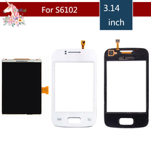 3.14″ For Samsung Galaxy Y Duos S6102 LCD Display With Touch Screen Digitizer Sensor Replacement