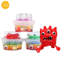 Monster Slime Creative Putty Smart Plasticine Playdough Tools Light Clay Hand Gum Putty Relieve Stress DIY Toys Accessory Kids