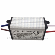 5pcs Waterproof Power Supply AC 110 220V LED Driver 2-3x3W 10W 900mA for 10w High power led chip light
