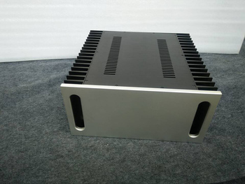 4320A Aluminum enclosure Preamp chassis Power amplifier case/box size 430*200*418mm
