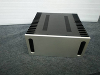 4320A gabinete De Alumínio Preamp chassis caso amplificador de Potência/tamanho da caixa 430*200*418mm|power amplifier case|amplifier case|preamp chassis -