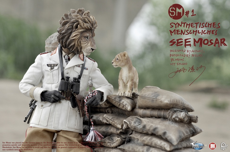 1/6 scale Military figure doll SYNTHETISCHES MENSCHLICHES SEE MOSAR 12 action figure doll Collectible figure toy model 16B2643