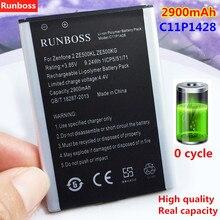 цена на Runboss New Original 2900mAh C11P1428 Battery For Asus Zenfone 2 Zenfone2 Laser ZE500KL ZE500KG Replacement Mobile Phone Battery