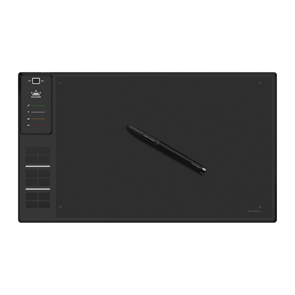 HUION WH1409 Giano Wireless Digital Tablet Professional Graphics Drawing Pen Tablet
