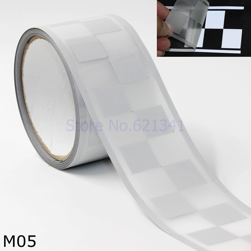 Home & Garden Bright 50mm 2 Width Diy Silver Elastic Reflective Safety Warning Tape Fabric Heat Transfer Film Iron On For Clothes Pants Bag Arts,crafts & Sewing