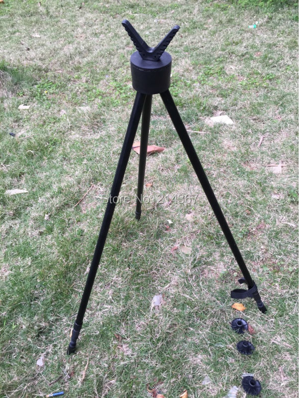 ФОТО Hunting Shooting Tripod Fishing Walking Tripod Shooting Stand Gun Rifle Stability Tripod Hunting Product Free Ship