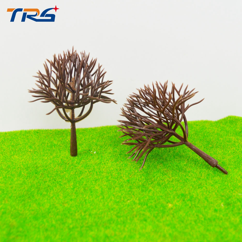 300pcs 6cm models trees architecture model making trees for Train Railway Scenery Layout