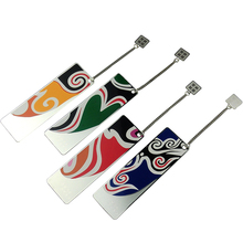 ShaoFu Peking Opera Metal Bookmarks Card Paper Bookmarks For School Office Supplies Creative Retro Stationery Opera Bookmarks mr paper 8 colors high quality pu leather bookmarks for novelty book reading maker page creative vintage style pu bookmarks