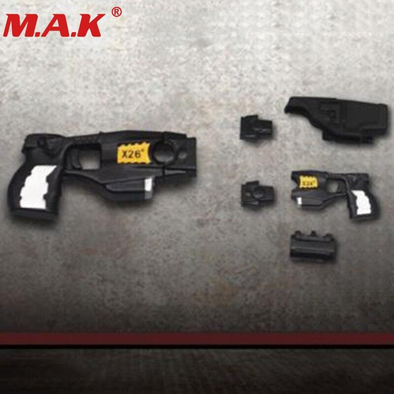 ZY2009E X26 Taser Yellow Black 1/6 Simulation Handgun Weapon Model Toy For 12